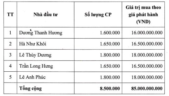 BOT Cầu Thái Hà phát hành riêng lẻ: 3 nhà đầu tư chiến lược bỏ cuộc, dư hơn 5 triệu cổ phiếu - Ảnh 2.