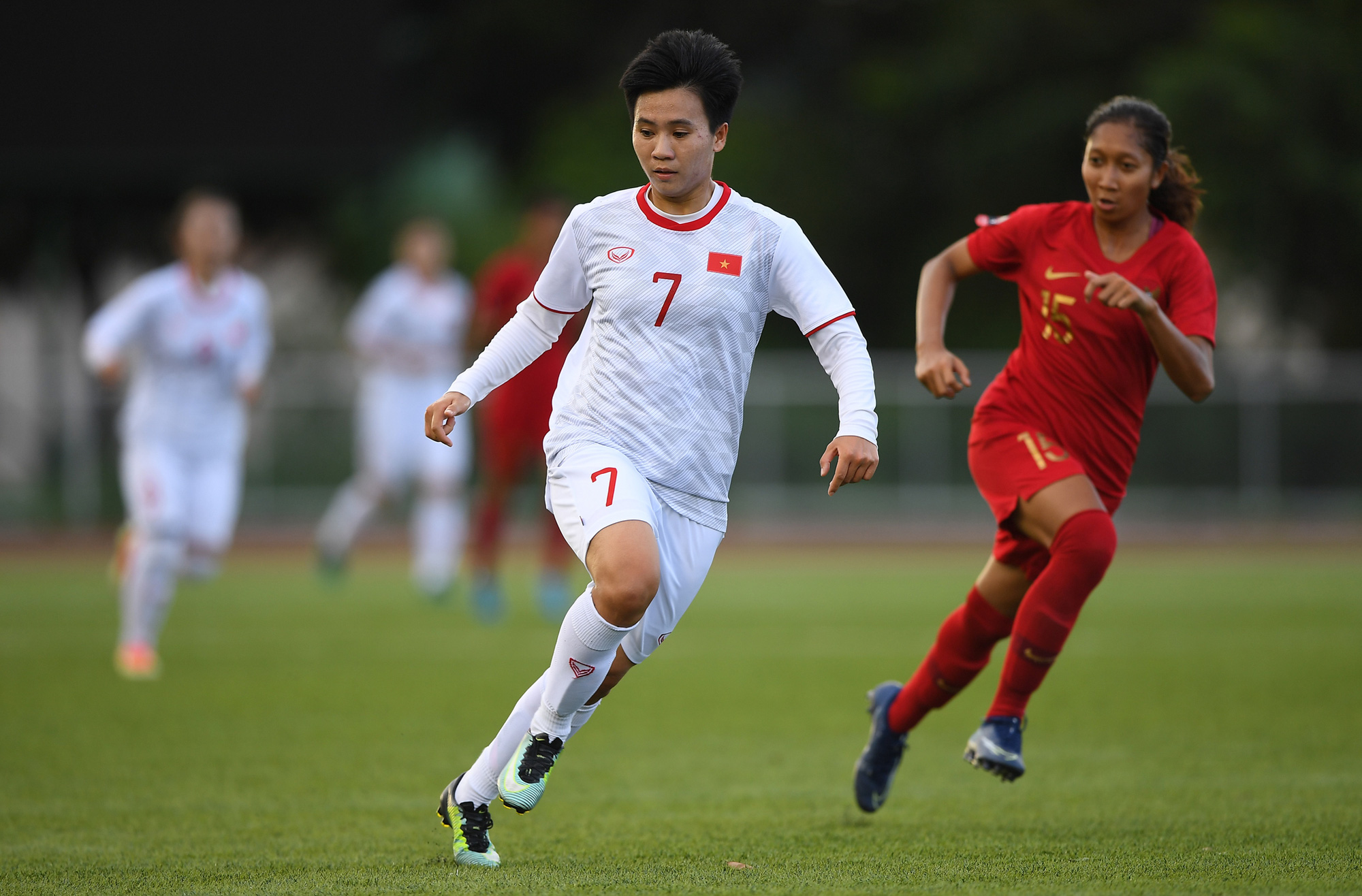 """Tuyết Dung - cô gái """"vàng"""" ôm giấc mơ World Cup của tuyển nữ Việt Nam: """"Đã lên sân là chiến đấu quên mình rồi!"""" - Ảnh 10."""