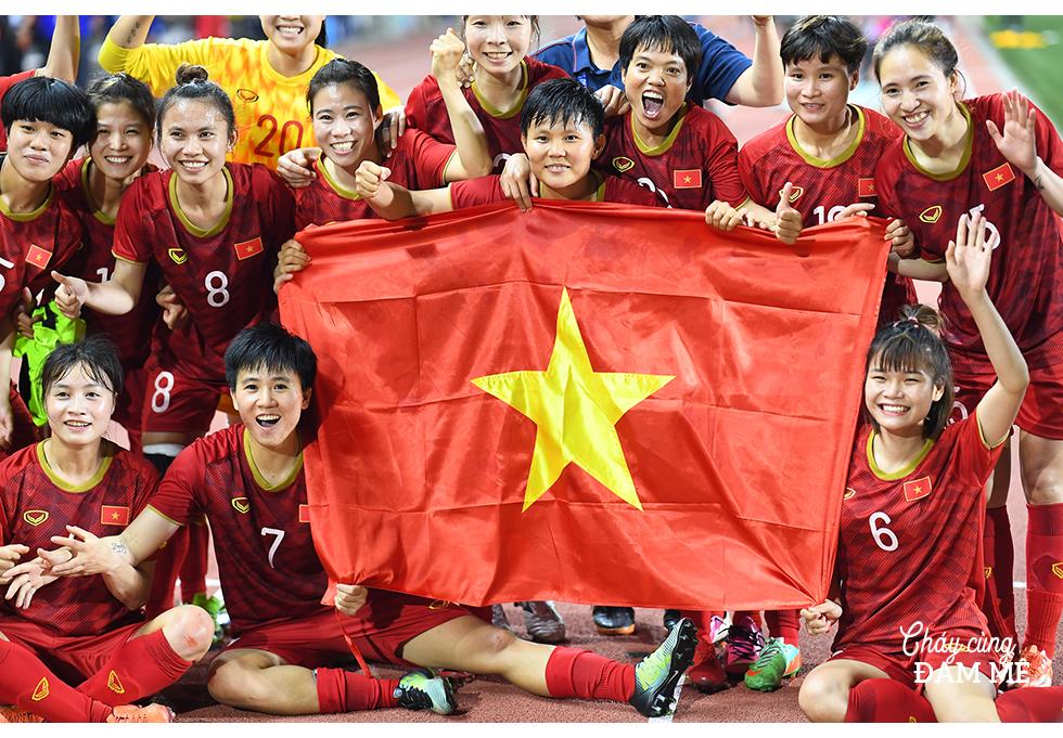 """Tuyết Dung - cô gái """"vàng"""" ôm giấc mơ World Cup của tuyển nữ Việt Nam: """"Đã lên sân là chiến đấu quên mình rồi!"""" - Ảnh 7."""