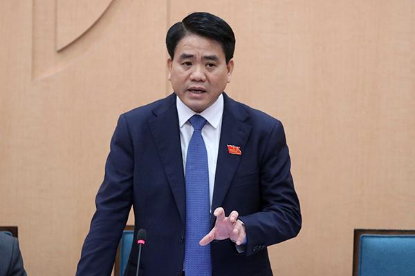 Ông Nguyễn Đức Chung: Một số cán bộ ý thức pháp luật chưa tốt, phải xử hình sự - Ảnh 1.