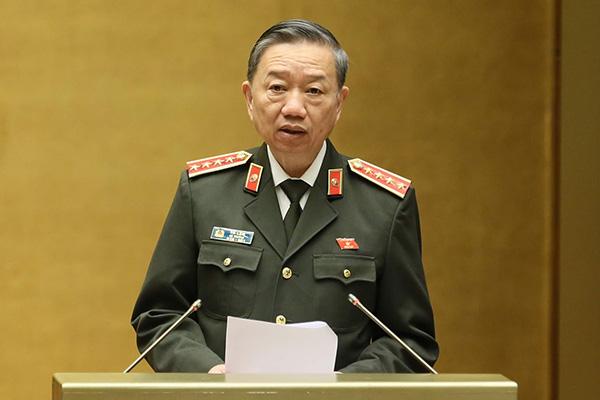 Bộ trưởng Tô Lâm: Năm 2019 kéo giảm 7,39% tội phạm - Ảnh 1.