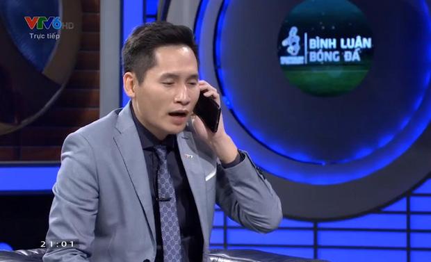 BLV Quốc Khánh lên tiếng xin lỗi Bùi Tiến Dũng trên sóng truyền hình trước trận U22 Việt Nam đấu Campuchia - Ảnh 2.