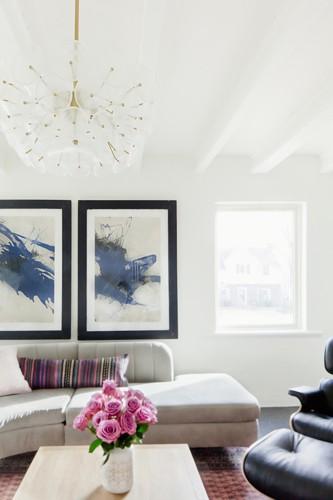 Nội thất dành cho chủ nhà yêu thích sự sắc nét và trật tự - Ảnh 3.