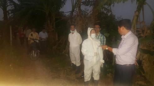 Người dân mang hàng trăm con lợn nhiễm dịch tả châu Phi đi tiêu hủy - Ảnh 4.