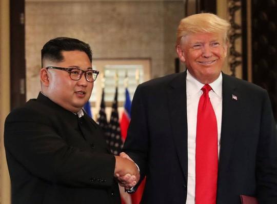 Ông Donald Trump nói gì trước khi gặp nhà lãnh đạo Triều Tiên? - Ảnh 1.