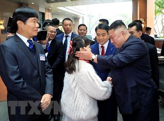 Hình ảnh Chủ tịch Triều Tiên Kim Jong-un bên trong khách sạn Melia - Ảnh 2.