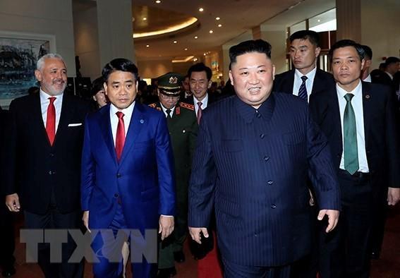 Hình ảnh Chủ tịch Triều Tiên Kim Jong-un bên trong khách sạn Melia - Ảnh 3.