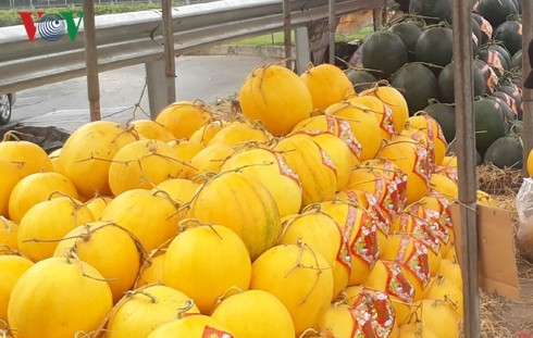 Thị trường hoa quả nhộn nhịp cuối năm, mâm ngũ quả tăng giá - Ảnh 2.
