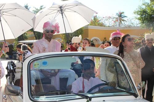 Cú hích du lịch đến từ đám cưới khủng của tỉ phú Ấn Độ - Ảnh 1.