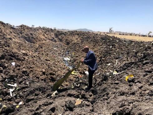 Ethiopia để quốc tang vụ tai nạn máy bay làm 157 người thiệt mạng - Ảnh 1.