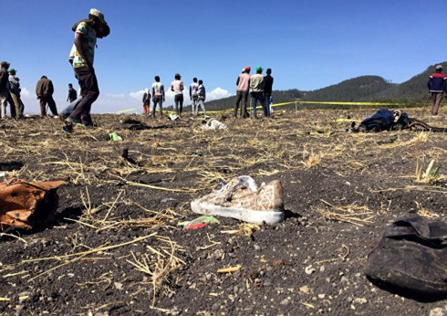 Ethiopia để quốc tang vụ tai nạn máy bay làm 157 người thiệt mạng - Ảnh 2.