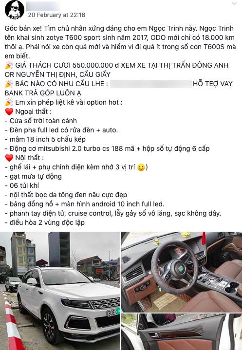 Đi gần 20.000 km, mẫu xe Trung Quốc này bán lại vẫn đắt ngang Honda CR-V - Ảnh 4.