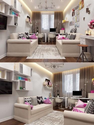 Cách thiết kế phòng ngủ tươi sáng và ngập tràn sắc màu cho trẻ - Ảnh 4.