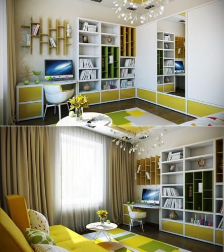 Cách thiết kế phòng ngủ tươi sáng và ngập tràn sắc màu cho trẻ - Ảnh 7.