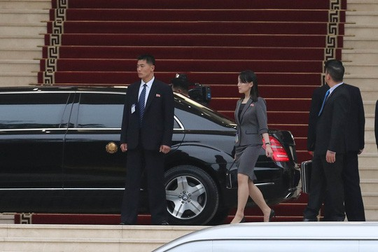 Cận cảnh những bóng hồng quyền lực trong đoàn Chủ tịch Kim Jong-un  - Ảnh 3.