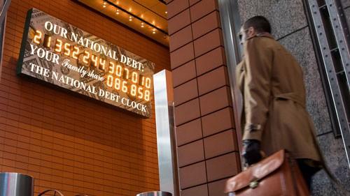 Kỷ nguyên nợ chưa từng thấy của Mỹ - Ảnh 1.
