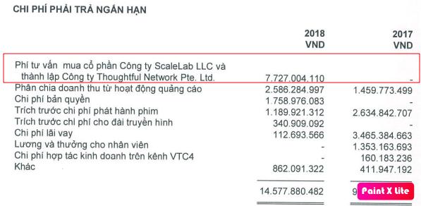 Trích lập dự phòng 100% cho Springme Pte Ltd, Yeah1 điều chỉnh giảm 17 tỷ đồng lợi nhuận 2018 - Ảnh 2.