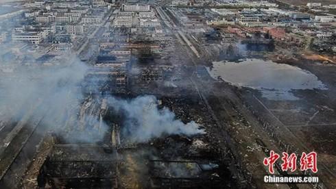 Vụ nổ nhà máy Trung Quốc: Nhiều người đang trong tình trạng nguy kịch - Ảnh 2.