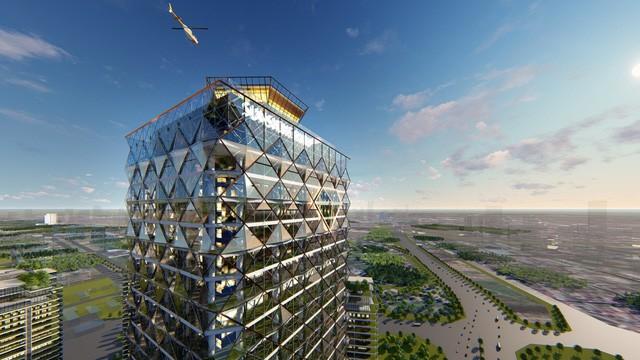 Loạt tòa tháp chọc trời dồn dập đổ bộ, biến nơi đây thành trung tâm tài chính - thương mại mới của Hà Nội - Ảnh 5.
