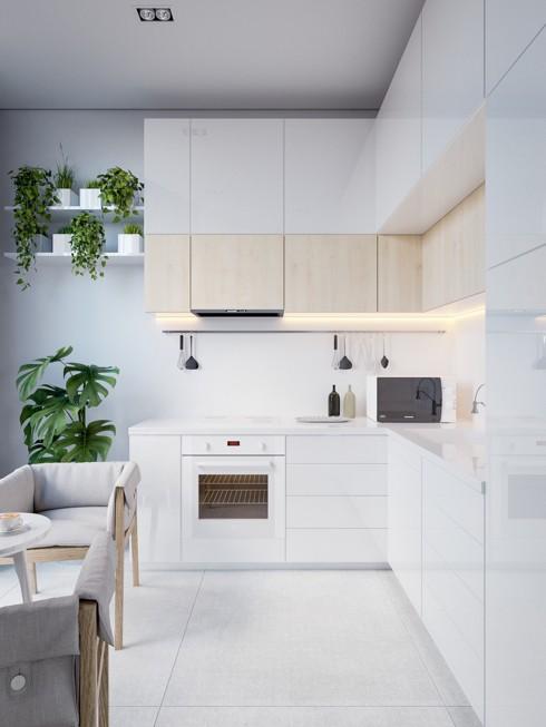 Mẫu tủ bếp đẹp cho căn hộ chung cư - Ảnh 12.