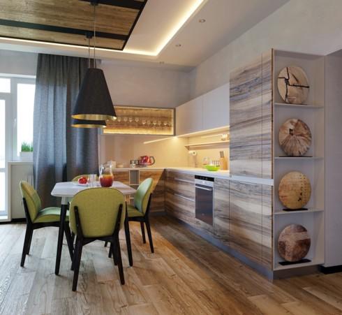 Mẫu tủ bếp đẹp cho căn hộ chung cư - Ảnh 15.
