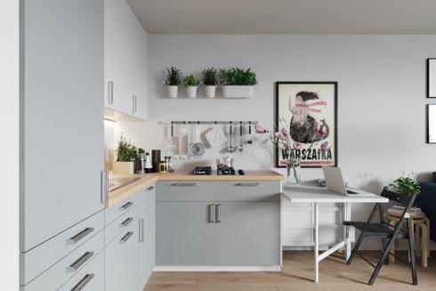 Mẫu tủ bếp đẹp cho căn hộ chung cư - Ảnh 8.