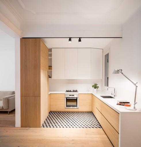 Mẫu tủ bếp đẹp cho căn hộ chung cư - Ảnh 9.