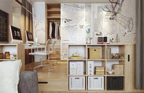 Thiết kế phòng ở mang đặc trưng nội thất Bắc Âu - Ảnh 2.