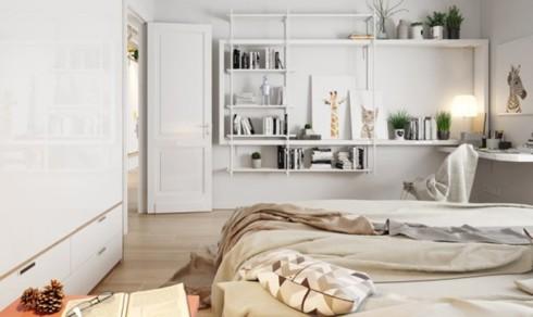 Thiết kế phòng ở mang đặc trưng nội thất Bắc Âu - Ảnh 7.