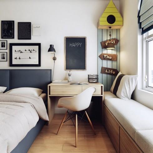 Thiết kế phòng ở mang đặc trưng nội thất Bắc Âu - Ảnh 10.