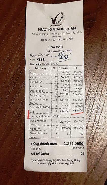Chủ quán ở Phú Yên nói gì về đĩa Sò Điệp bị chém đẹp 680.000 đồng?  - Ảnh 3.