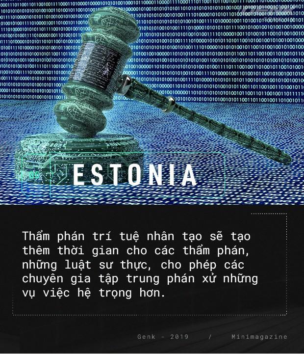 Chào mừng bạn đến với Estonia - nơi quan tòa không phải là con người - Ảnh 6.