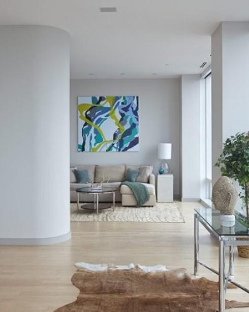 Căn nhà nổi bật hơn nếu sơn tường trắng theo cách này - Ảnh 2.