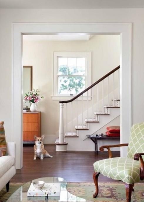 Căn nhà nổi bật hơn nếu sơn tường trắng theo cách này - Ảnh 9.