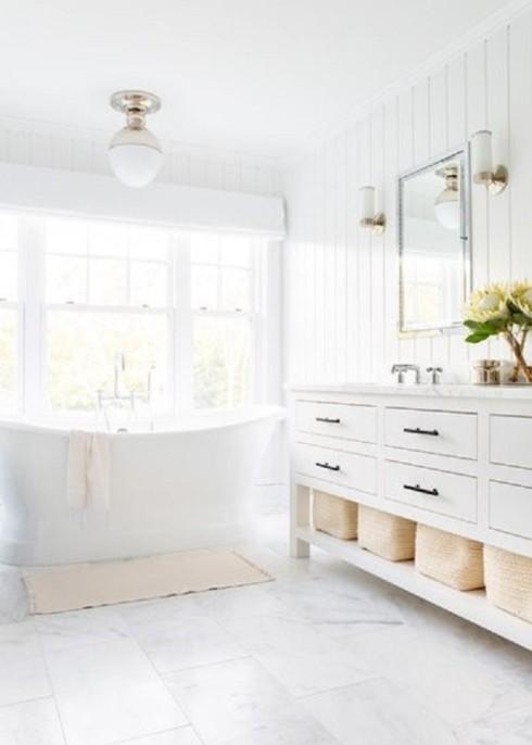 Căn nhà nổi bật hơn nếu sơn tường trắng theo cách này - Ảnh 10.