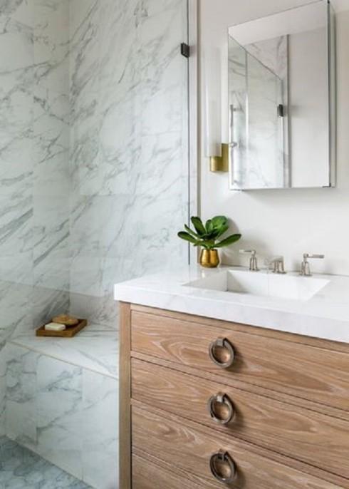 Mách bạn lựa chọn giữa thạch anh tự nhiên và nhân tạo trong thiết kế nội thất - Ảnh 11.