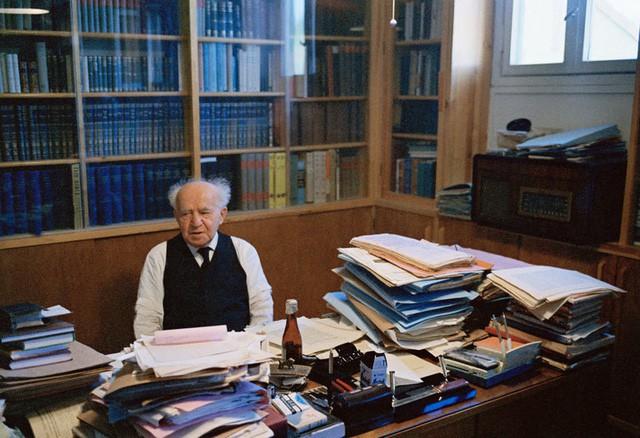 Chân dung David Ben Gurion: Từ nhân viên bảo vệ đến người cha già khai sinh ra đất nước Israel - Ảnh 9.