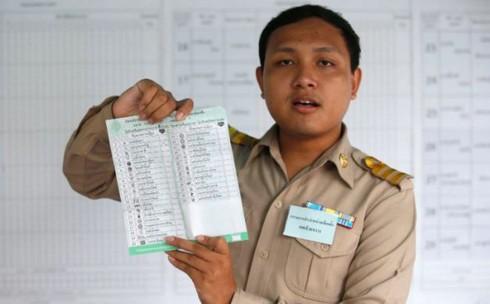 Thái Lan tổ chức bầu cử lại ở 6 khu vực - Ảnh 1.