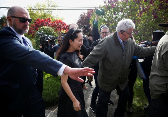 Tranh cãi Huawei phủ bóng đàm phán thương mại Mỹ - Trung - Ảnh 1.