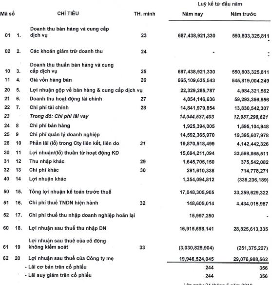Nhà Thủ Đức (TDH): Quý 1 lãi 17 tỷ đồng giảm 41% so với cùng kỳ - Ảnh 2.