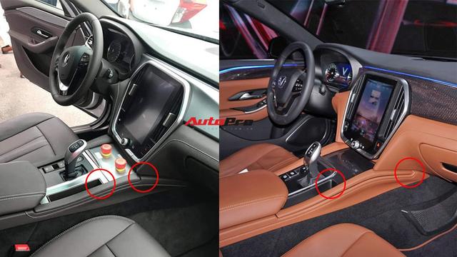 Bùng nổ tranh luận nhiều chi tiết khác biệt trên VinFast Lux tại nhà máy so với xe trưng bày - Ảnh 4.