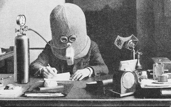 Con người từng chế được mũ chống mất tập trung từ 100 năm trước, nhưng bạn sẽ bất ngờ khi nhìn thấy nó - Ảnh 1.