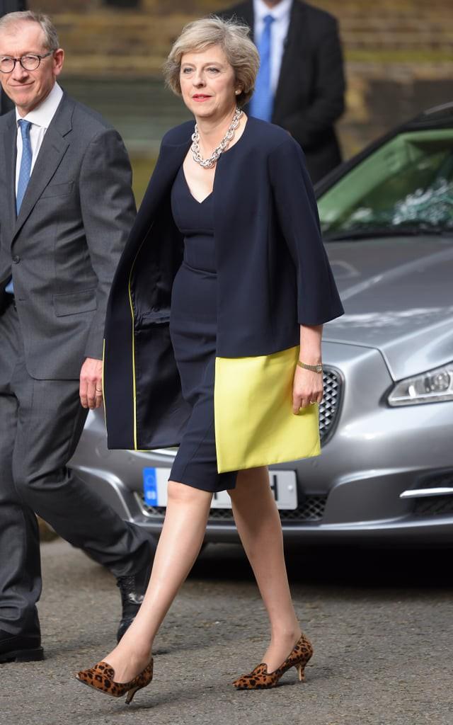 Theresa May: Người phụ nữ thời thượng với niềm đam mê giày gót mèo và hoa văn da báo - Ảnh 3.