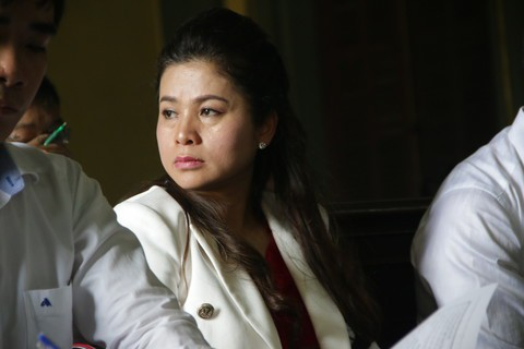 """Bà Lê Hoàng Diệp Thảo """"kêu cứu"""" tới Văn phòng Chủ tịch nước - Ảnh 1."""