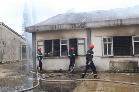 Hỏa hoạn thiêu rụi 7 gian nhà kho dâu tằm Lâm Đồng  - Ảnh 4.