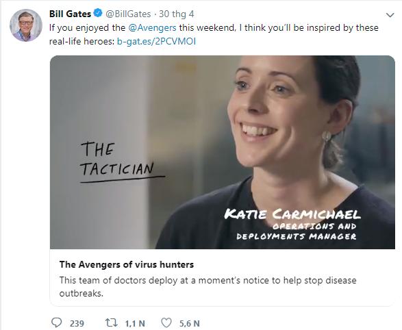 Không phải Captain America hay Thor, đây mới là biệt đội Avengers ngoài đời thực đang bảo vệ thế giới khỏi cái chết dưới con mắt của tỷ phú Bill Gates - Ảnh 1.