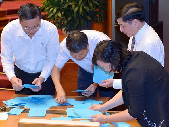 Quốc hội tiến hành phê chuẩn bổ nhiệm nhân sự; thảo luận 2 dự án luật - Ảnh 3.