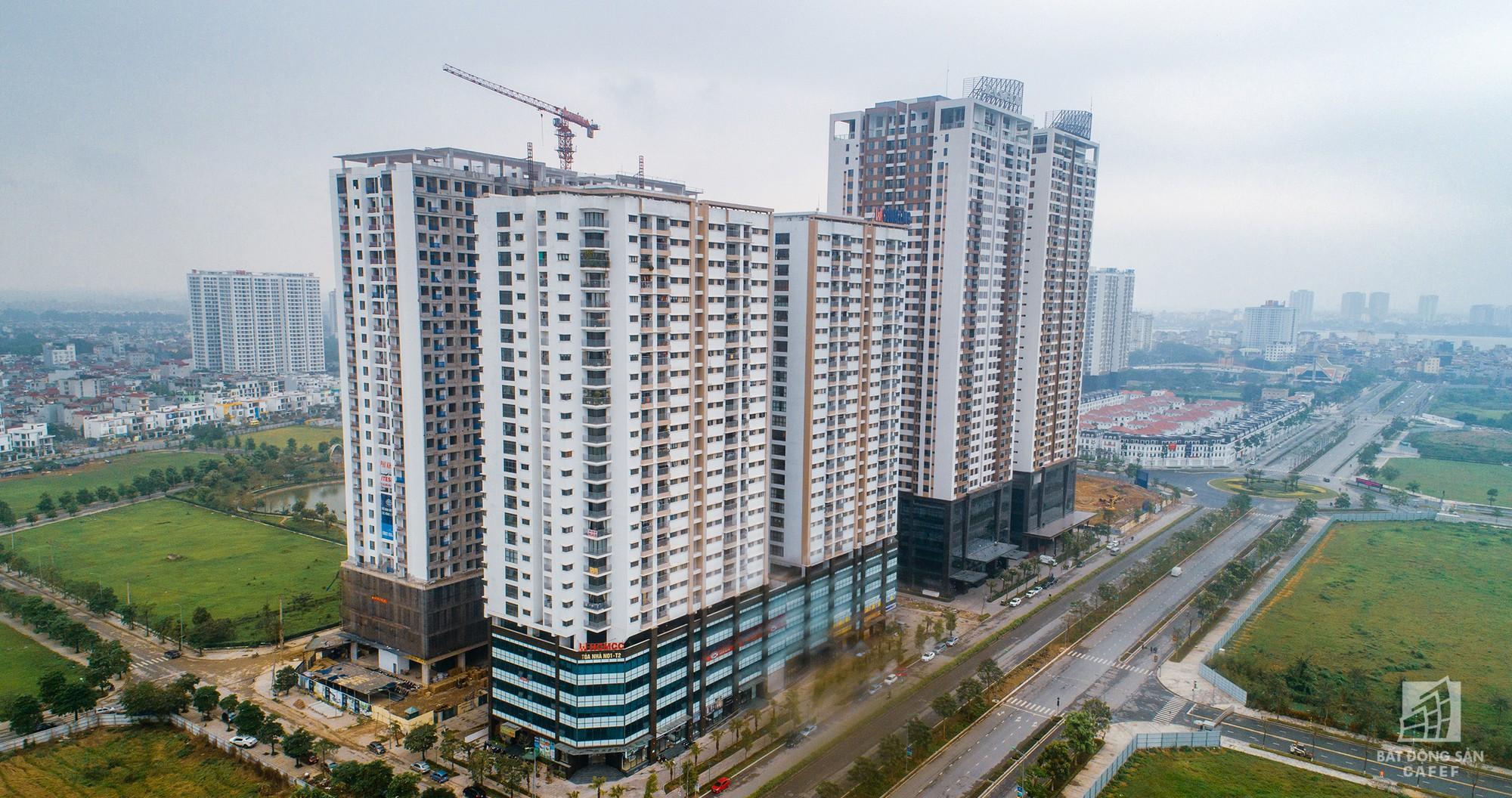 Nhìn từ trên cao, rừng chung cư cao tầng hối hả thi công, tạo nên sức nóng BĐS khu Tây Hồ Tây - Ảnh 3.