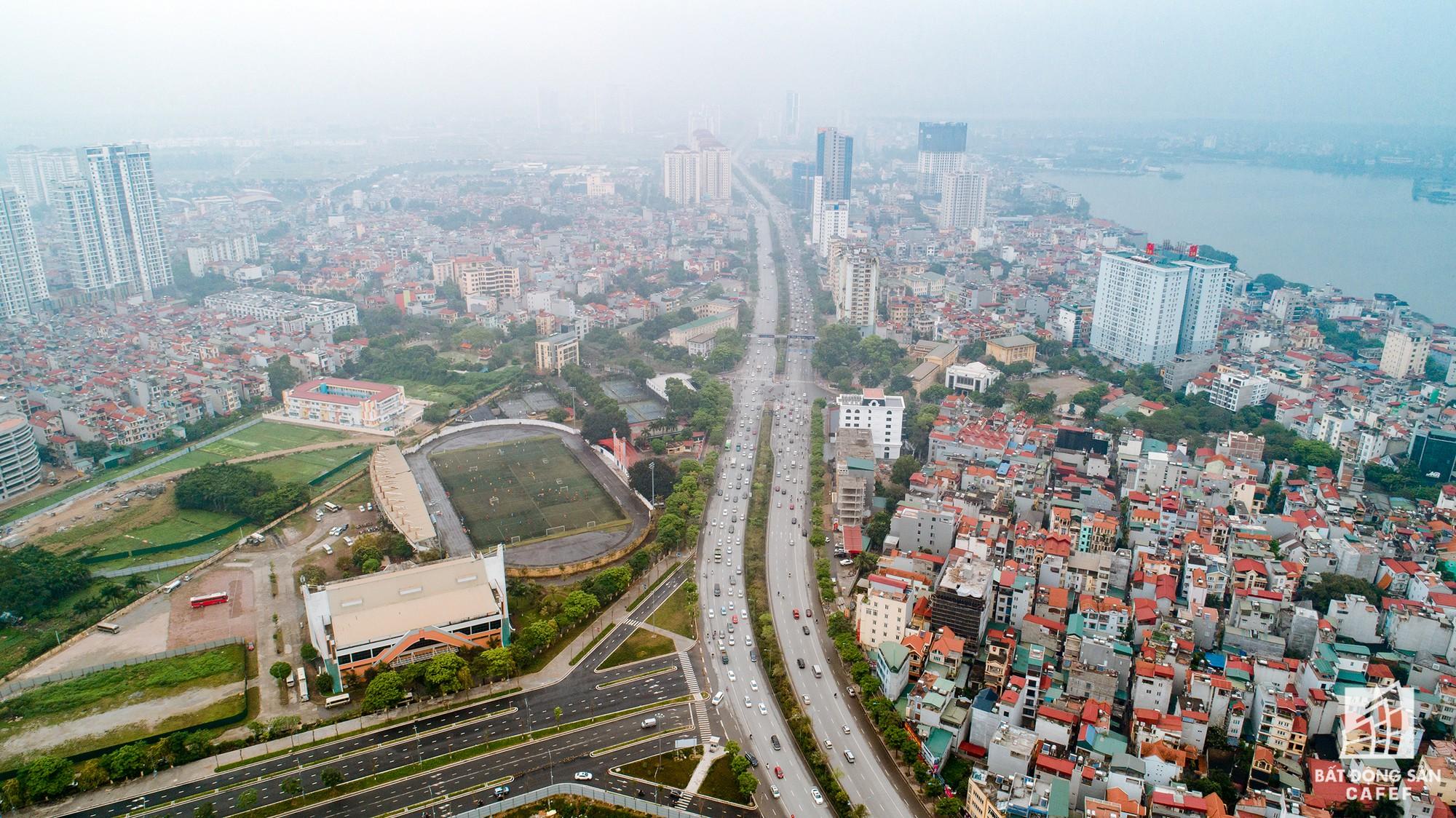 Cận cảnh hàng loạt dự án cao ốc dọc trục đường 8 làn xe tại trung tâm Hà Nội - Ảnh 6.