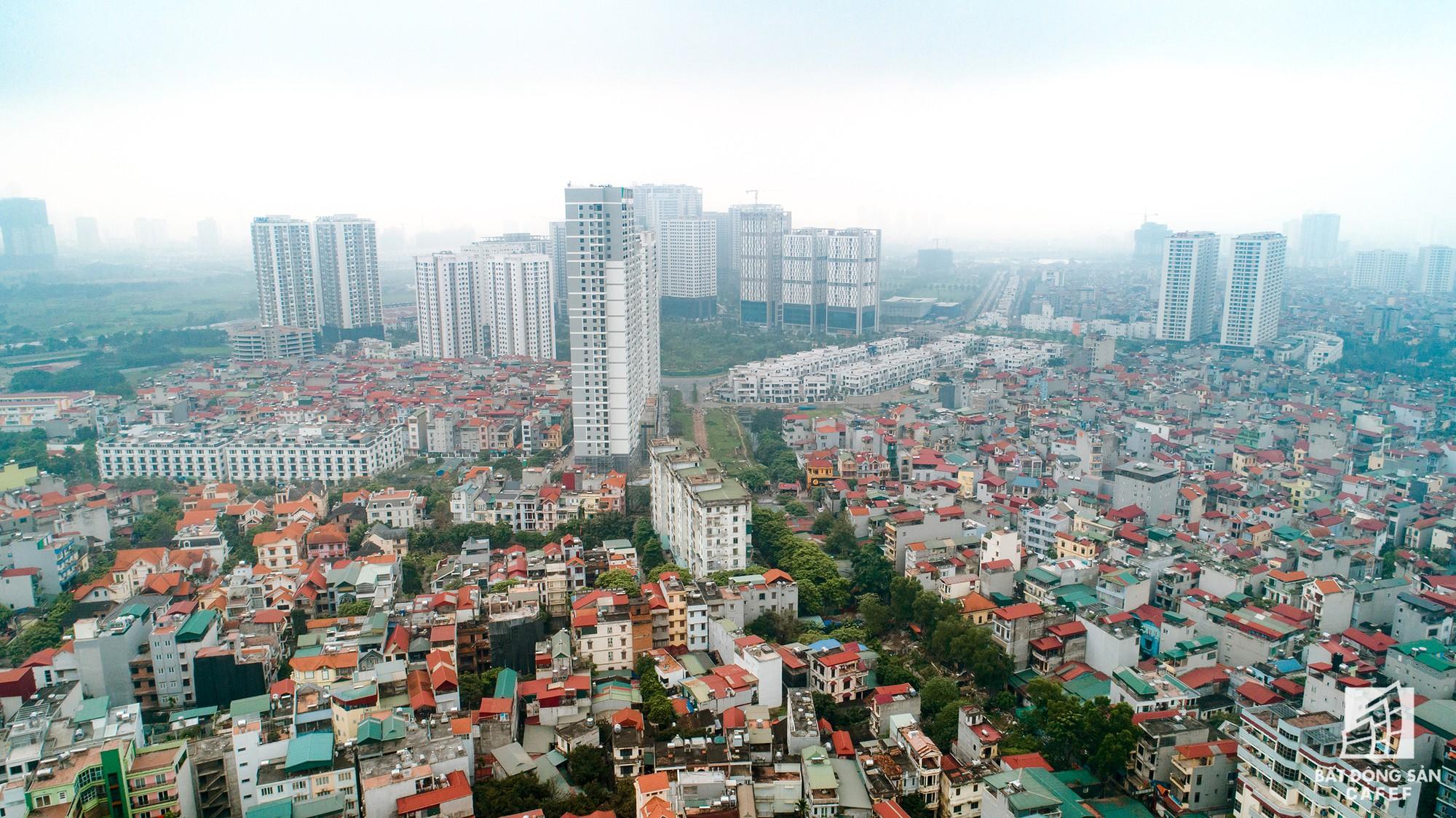 Cận cảnh hàng loạt dự án cao ốc dọc trục đường 8 làn xe tại trung tâm Hà Nội - Ảnh 14.